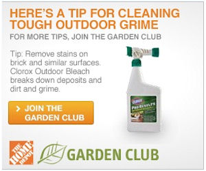 Home Depot Garden Club Free Product Samples