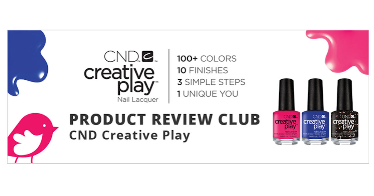 ChickAdvisor - Free CND Creative Play Nail Lacquer - Free Product ...