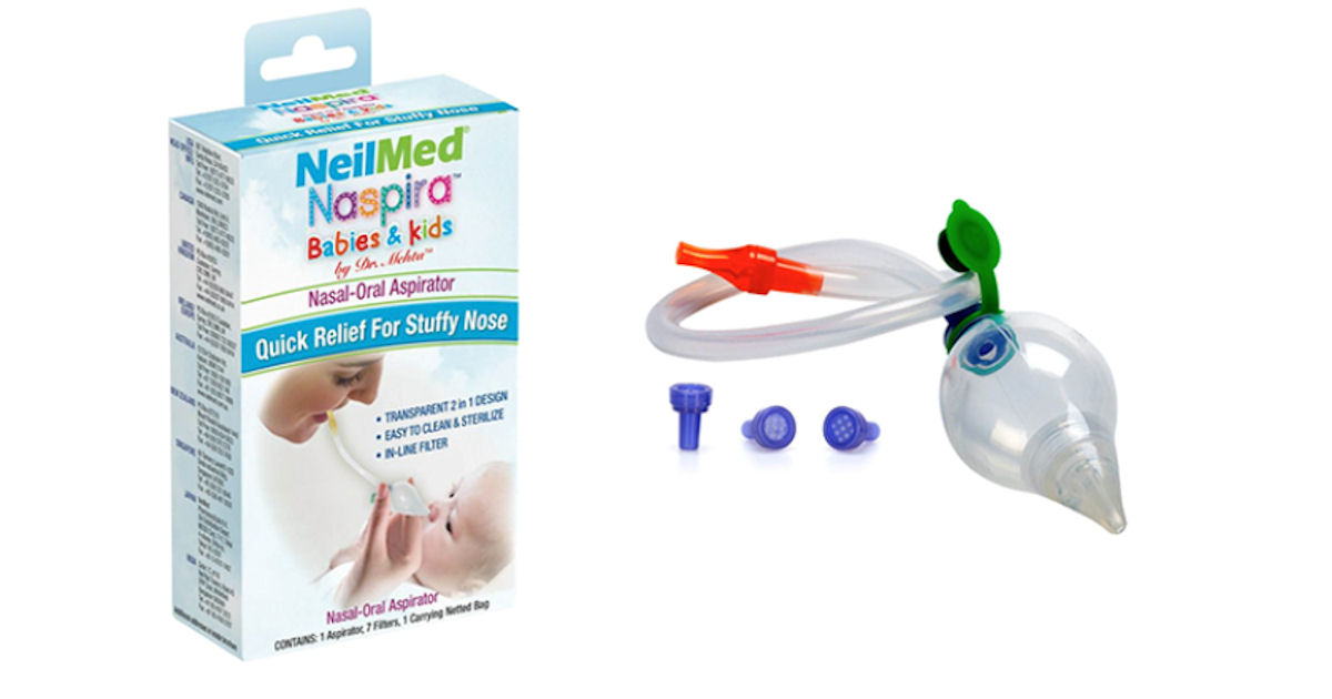 Free NeilMed Naspira Nasal Oral Aspirator for Babies - Free Product ...