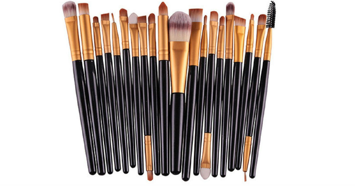 Makeup brushes on Gearbest