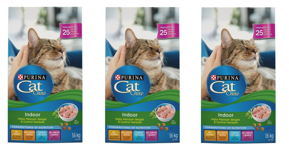 Purina CAT Chow at Walmart