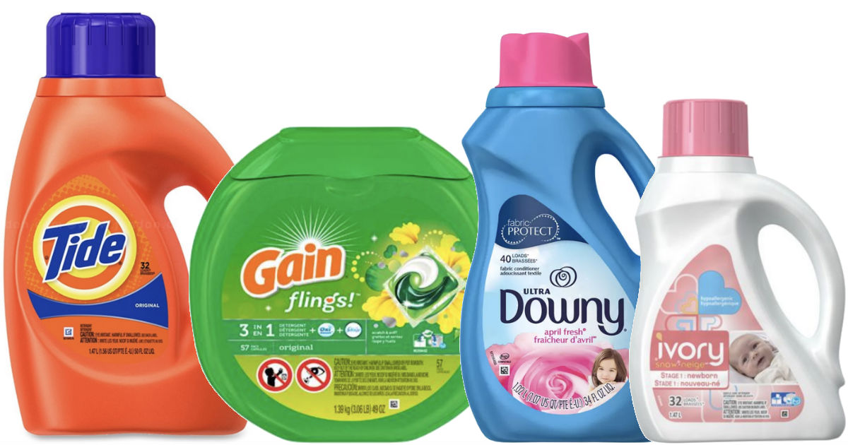 Laundry Products Coupon