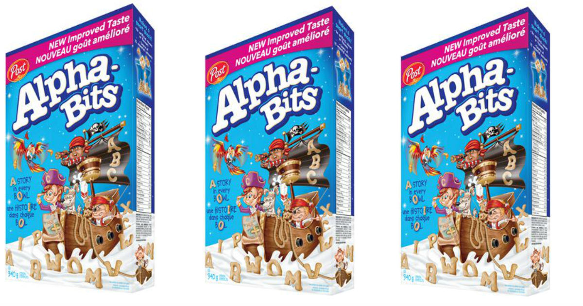 Alpha Bits Cereal at Walmart