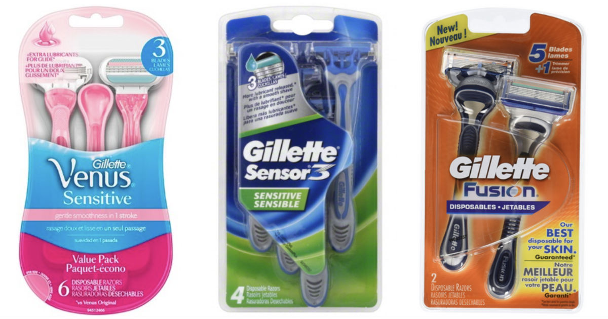 coupon for gillette disposable razors
