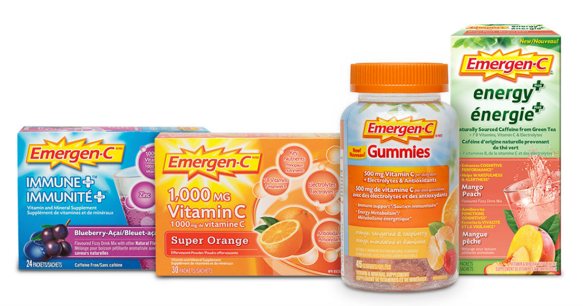 picture relating to Emergen C Coupon Printable referred to as Emergen-C - $4 Off Printable Coupon - Printable Discount codes