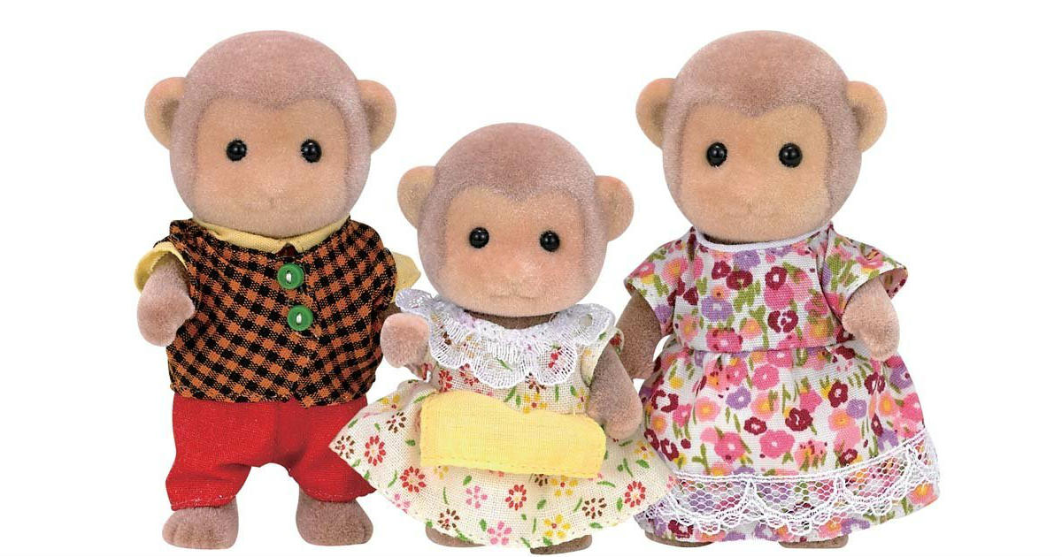 Calico Critters Mango Monkey Family ONLY $7.79 (Reg. $19)