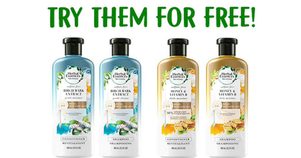 Free Herbal Essences Sulfate Free Shampoo and Conditioner