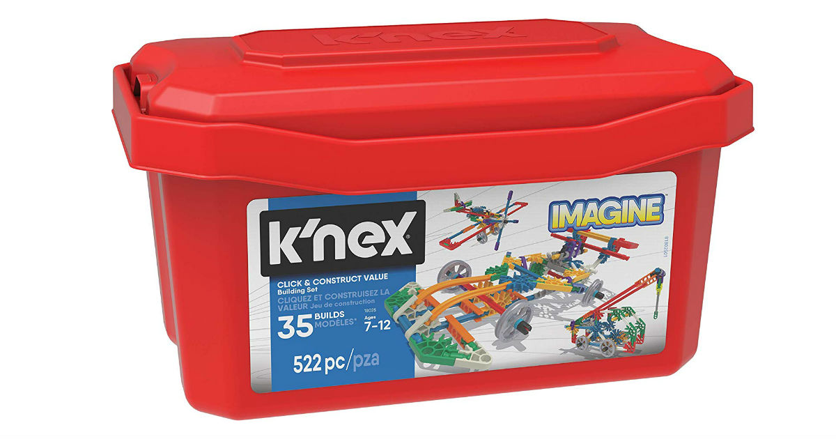 K'NEX Imagine Click & Construct ONLY $20.99 (Reg. $35)