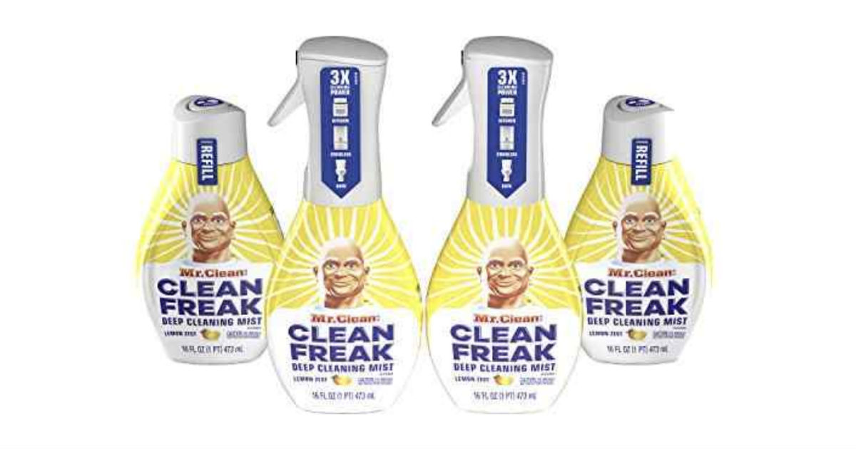 image about Mr Clean Coupons Printable identified as Mr. Fresh - Preserve $1.00 off One particular Mr. Contemporary Refreshing Freak Beginner