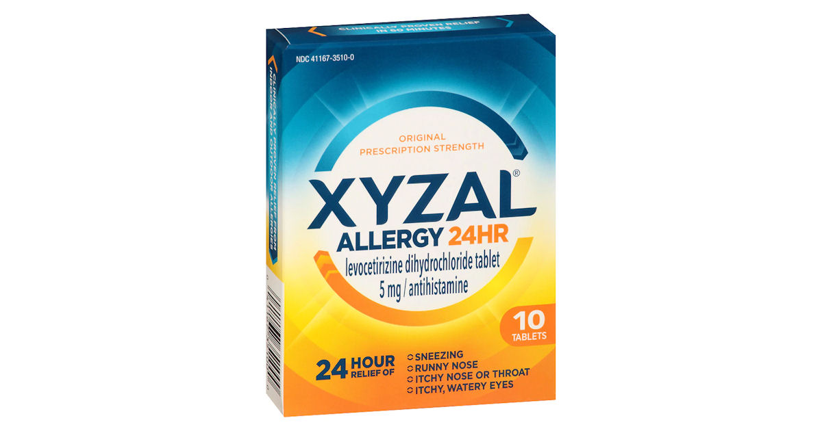 Free Sample of Xyzal Allergy 24H