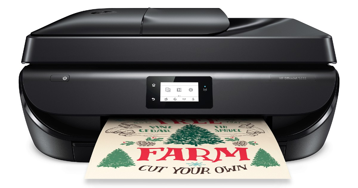 HP OfficeJet Wireless Color Inkjet Printer ONLY $39 at Walmart