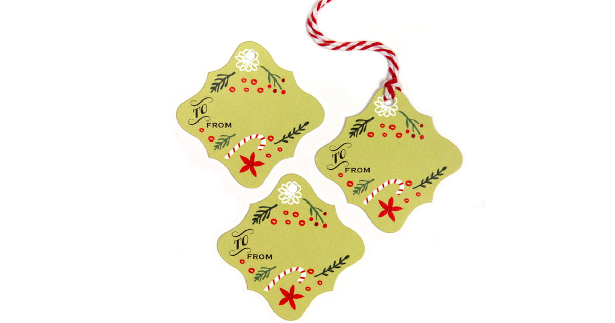 Free Evermine Holiday Gift Tags