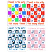 Able Baby Potty Training Sticker Charts
