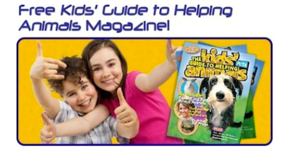Kids Guide to Helping Animals