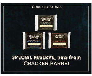 photograph about Cracker Barrel Coupons Printable called Cracker Barrel - $1 Off Unique Guide Organic and natural Cheese