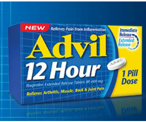 image regarding Advil Printable Coupon called Coupon for $4 Off Advil 12 Hour 30 or 53 Pill - Printable