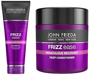Free Sample of John Frieda Frizz Ease Miraculous Recovery - Free ...